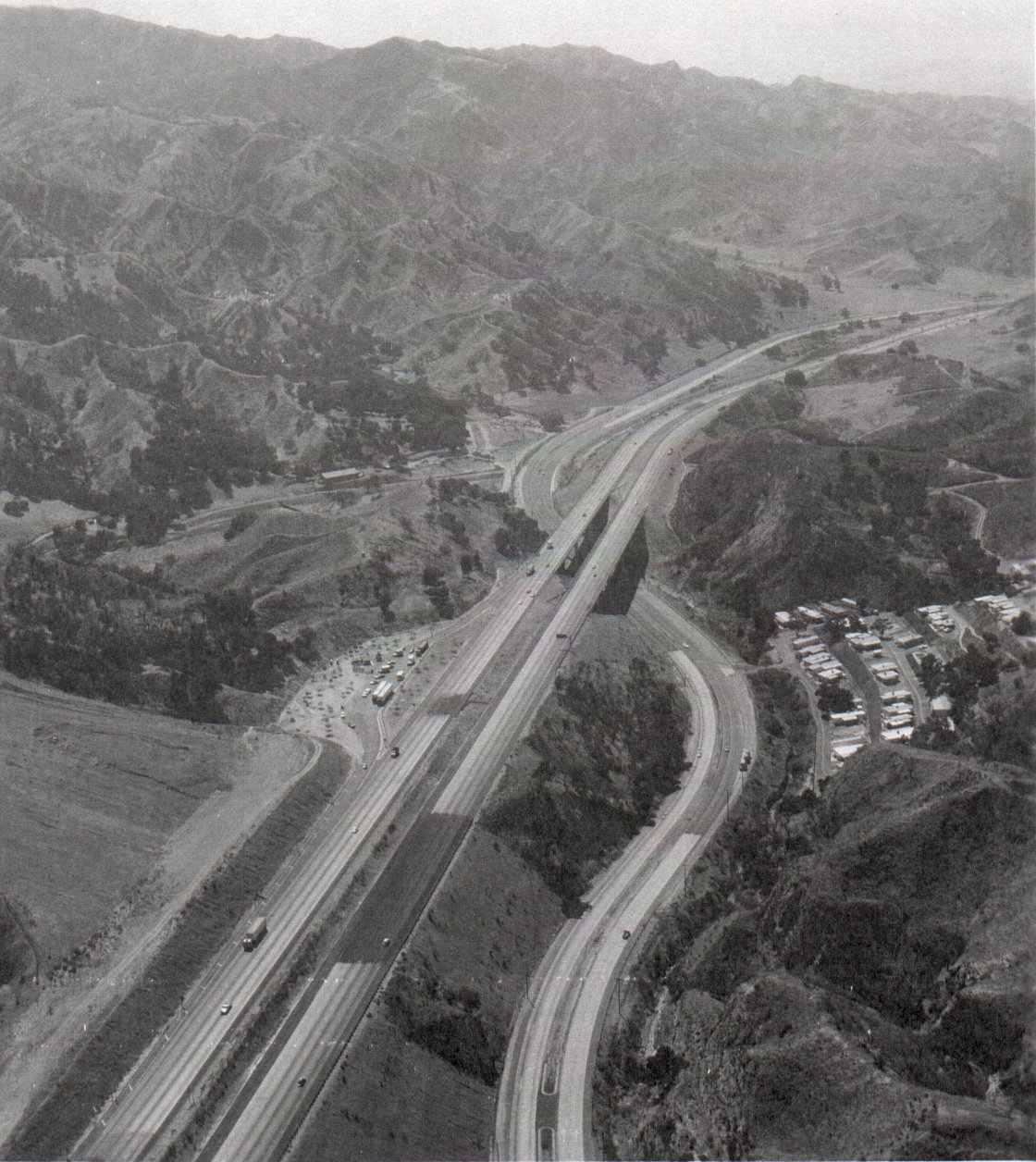 US   Gavin Canyon Southern California Regional Rocks And Roads - Map of us highway rest stops