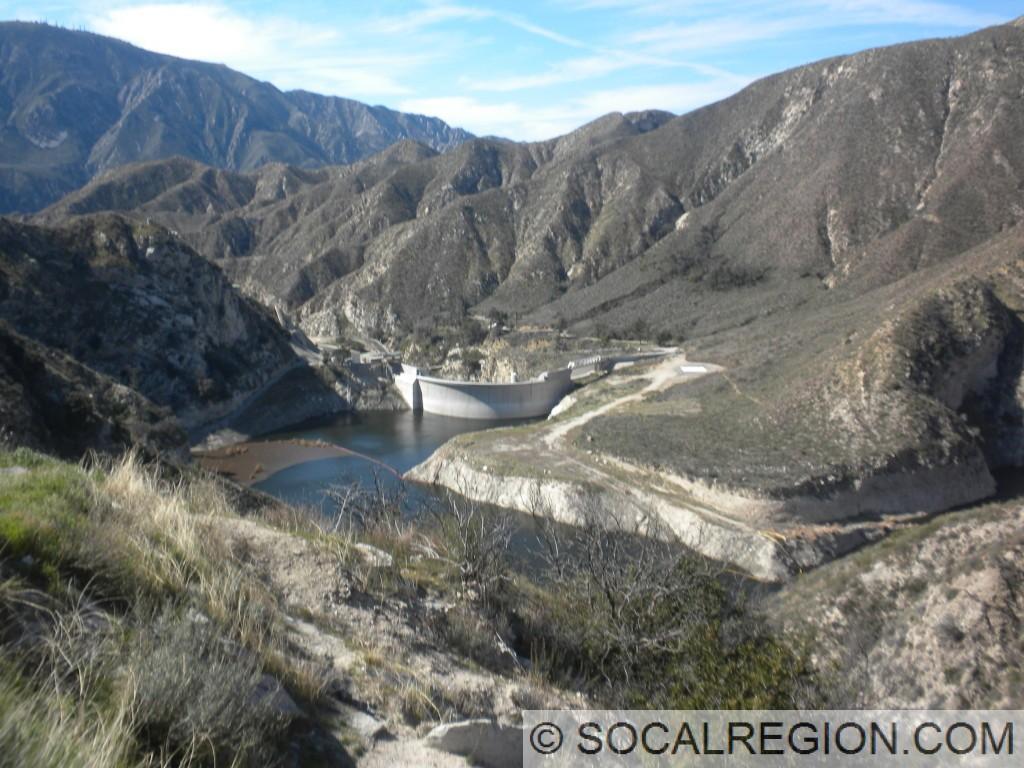 Big Tujunga Dam and Reservoir.
