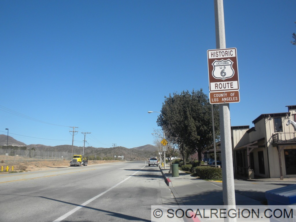Historic US 6 signage at Acton Junction.