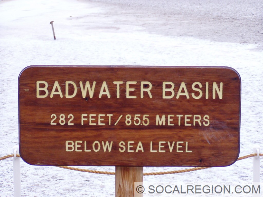 Signage near the roadway.