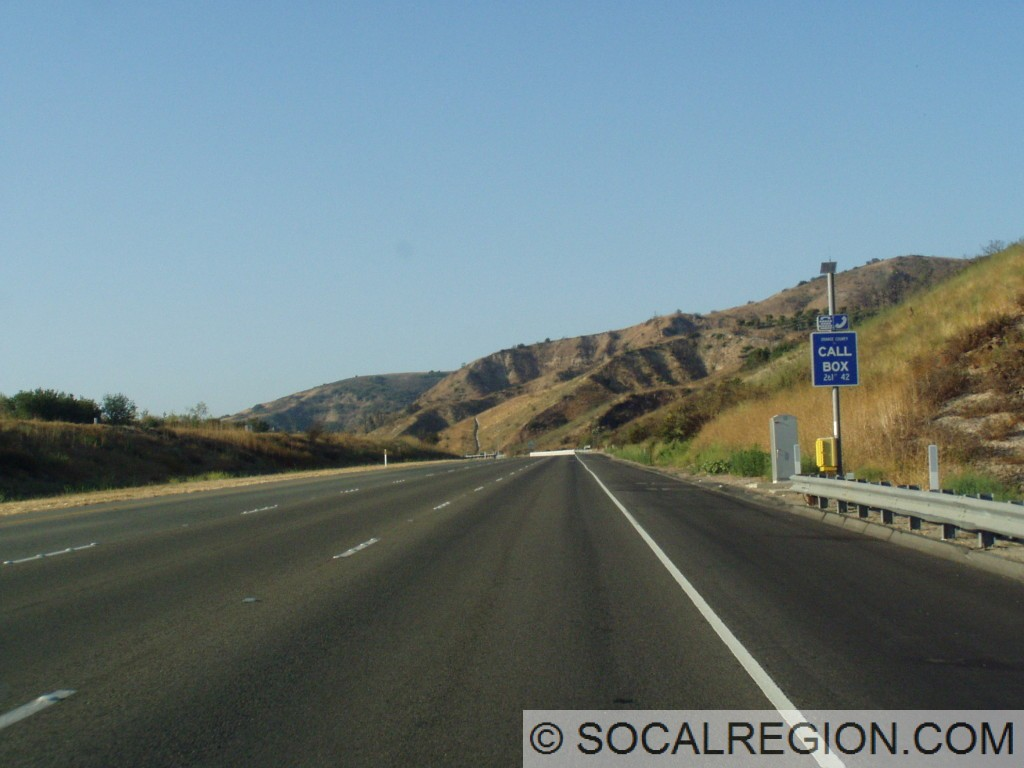 Northbound north of Irvine Blvd.