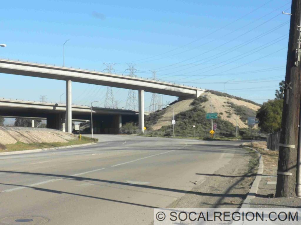 Sepulveda Junction. I-5 / I-210 interchange is in the background.