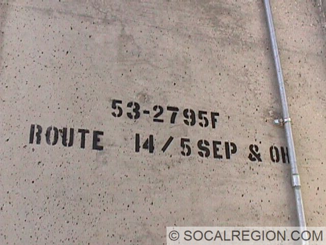 Bridge stamp on the 5N/14N ramp.
