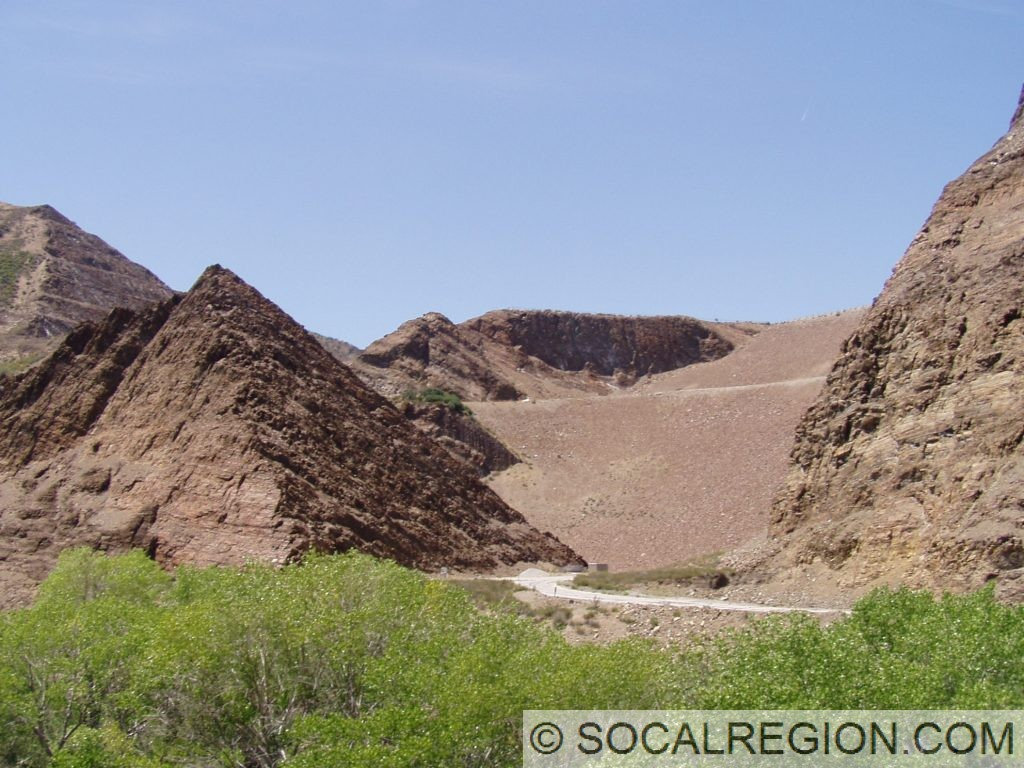 Pyramid Rock and Dam