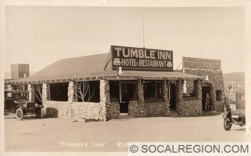 1920's view of the Tumble Inn