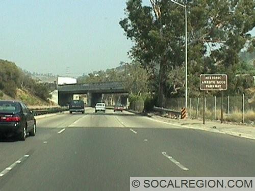Heading NB just south of Pasadena Avenue