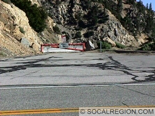 North Gate at Islip Saddle - Jct. Hwy 2 - Angeles Crest Highway