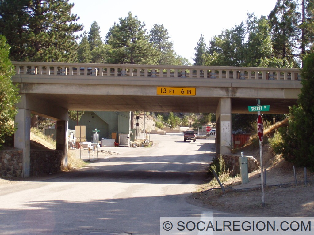 1950 grade separation at the 18 / 330 junction. this separates 330 from Palo Alto Way.