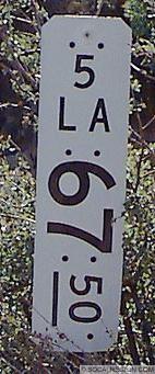 milepost