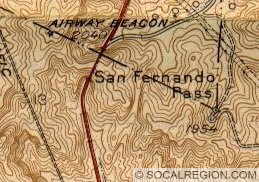 Map of the Tunnel and Beale's Cut from 1939.