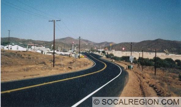 Looking East towards Crown Valley Road.