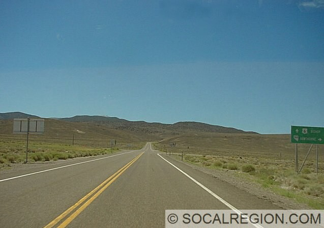View west along US 6 at Basalt Junction. Old Basalt Junction is about 1/4 mile south (left) of this point.
